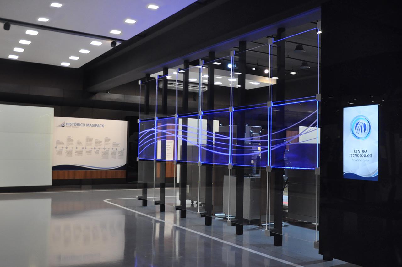 Showroom - panel LED
