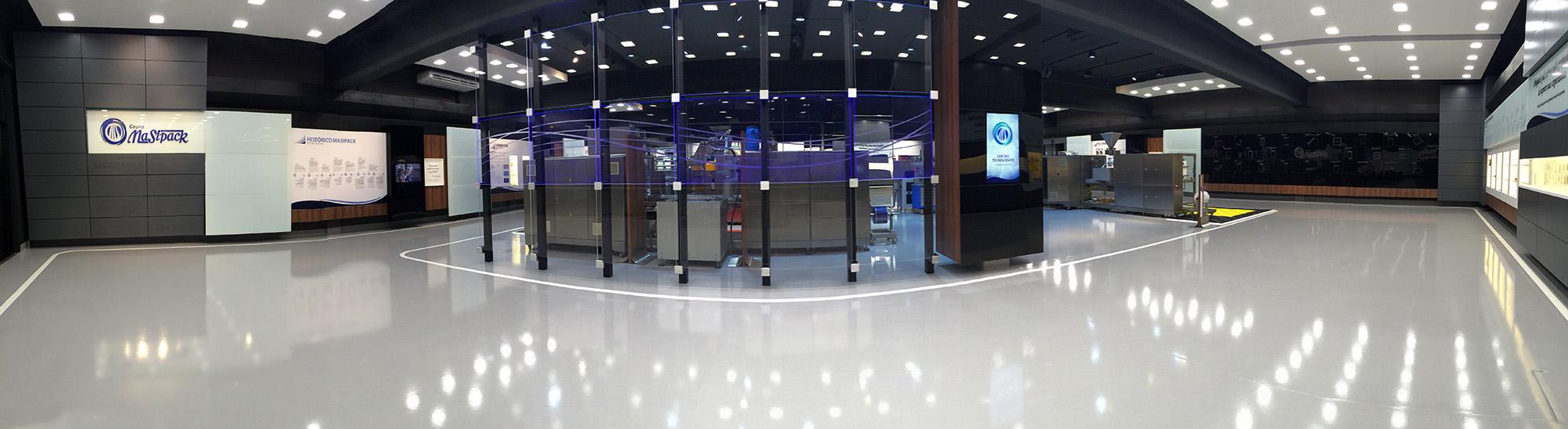 Showroom - panoramic